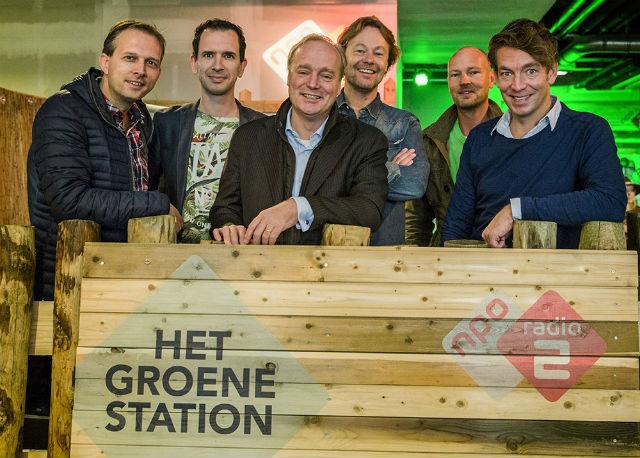 Het Groene Station op Radio 2