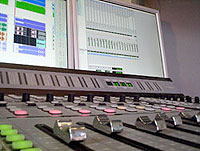 De mengtafel in Studio 1