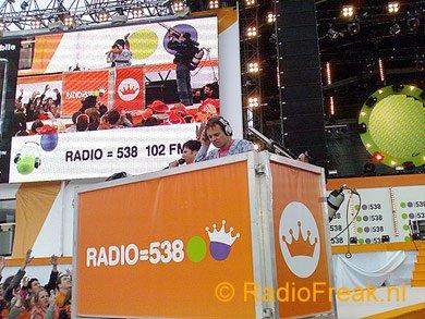 Radio 538 op het Museumplein