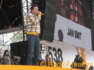 Jan Smit treedt op