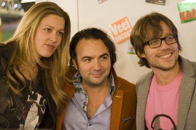 Annemieke, Gerard en Giel