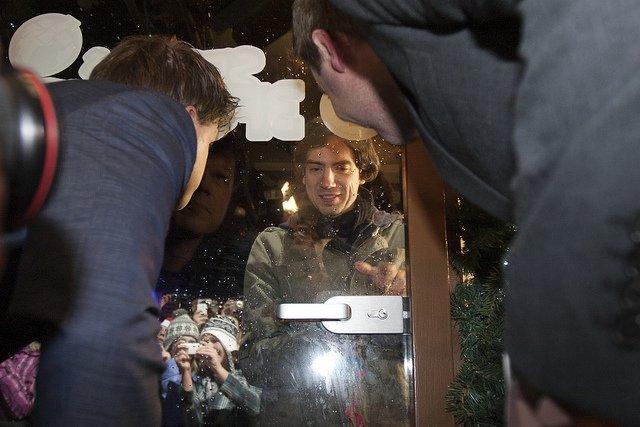Gary Lightbody sluit de dj's op in het Glazen Huis