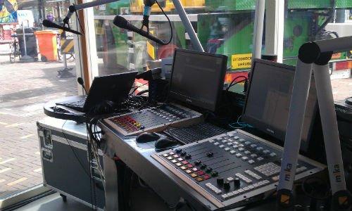 De mengtafel van Kermis FM