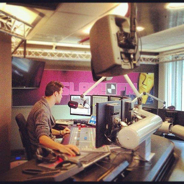 Nieuwe studio Slam!FM