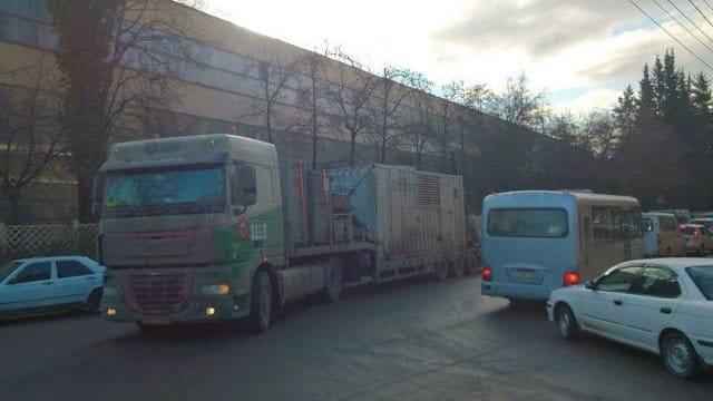 Trailer 538 naar Sochi