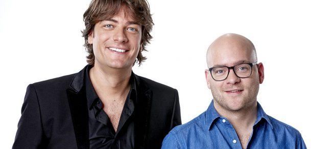 Frank Dane en Jelte van der Goot