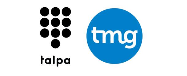 Logo Talpa en TMG