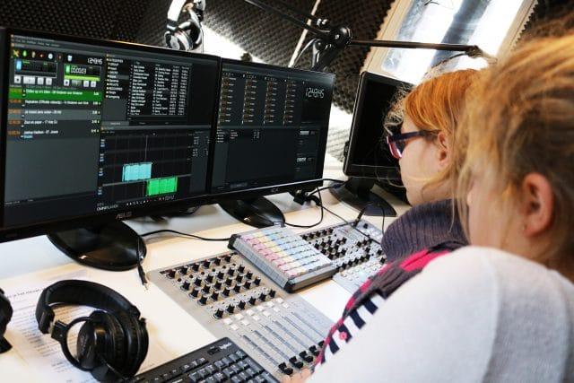 Kinderen maken radio