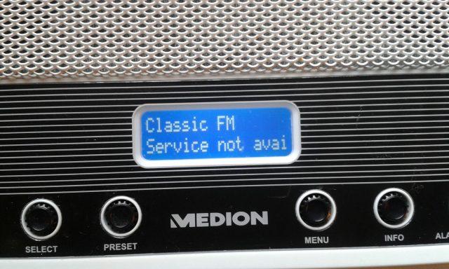 Classic FM van DAB+ af