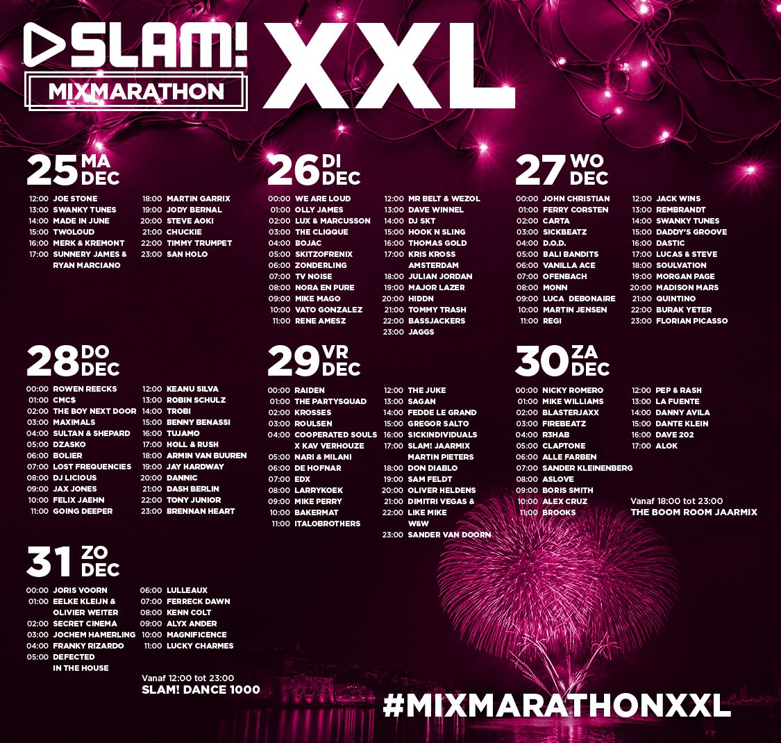 SLAM! Mix Marathon XXL