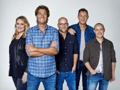 Hannelore Zwitserlood, Frank Dane, Jelte van der Goot, Henk Blok en Jelmer Gussinklo
