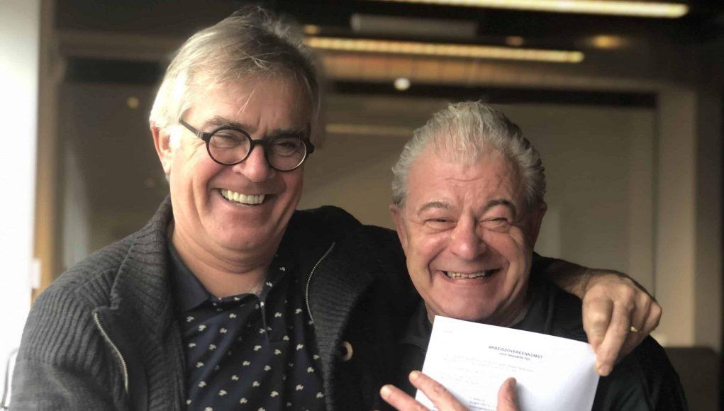 Fred Siebelink en RTV Utrecht directeur Paul van der Lugt