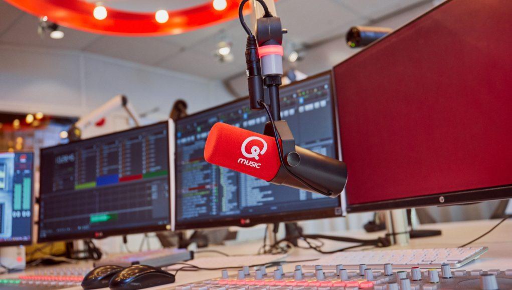 Studio van Qmusic
