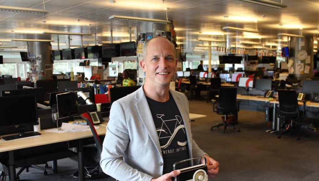 Sebastiaan Timmerman met zijn RadioFreak Award