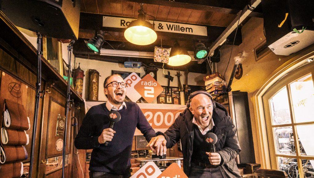 Frank van 't Hof en Wouter van der Goes starten de Top 2000 Stemweek
