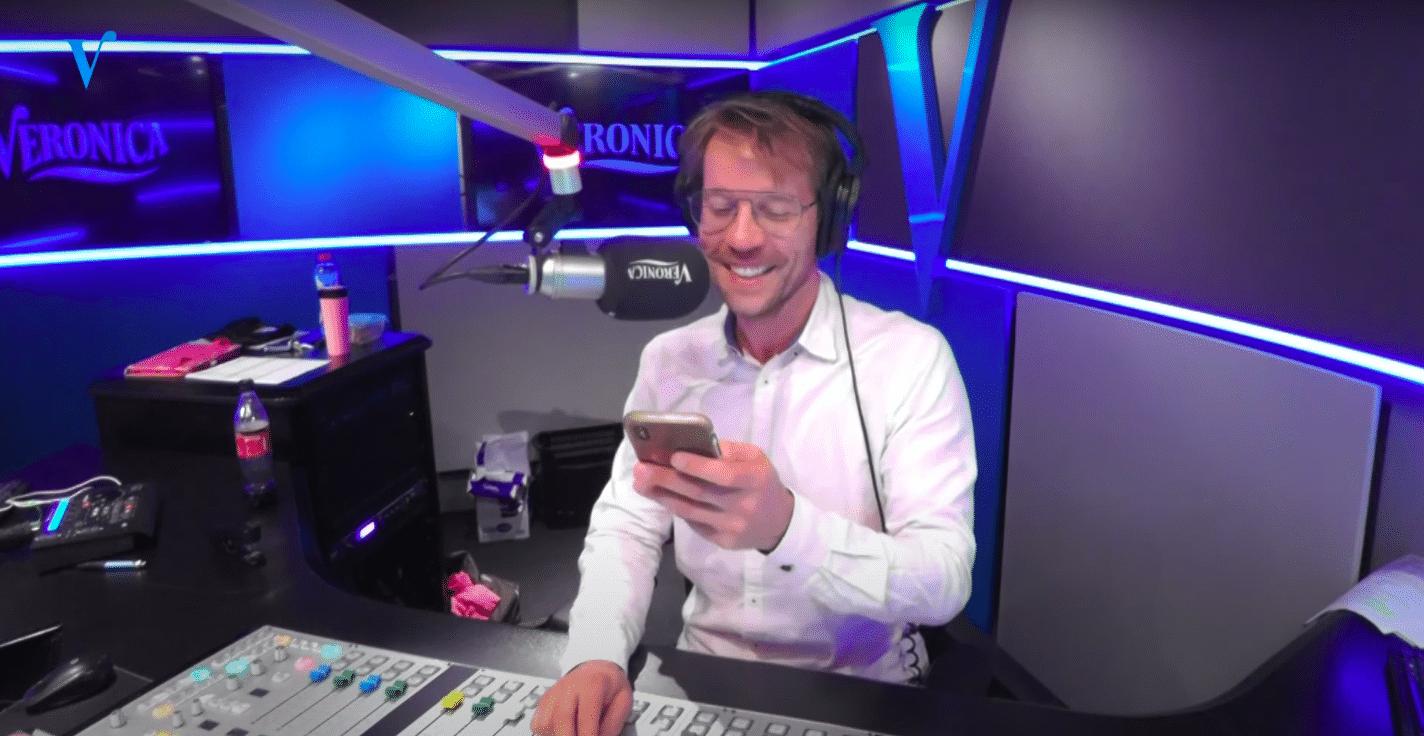 Giel Beelen Wilde In Januari Al Stoppen Bij Radio Veronica Radiofreak Nl
